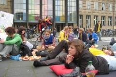 """Aktion: """"1000 mal freie Bildung"""" - 16.06.'09"""