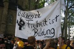 Bildungsstreik 2009: Demo am Mittwoch