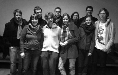 Gruppenfoto des neuen AStA