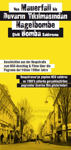 keußstraßenkino front Keupstraßenkino: Von Mauerfall bis Nagelbombe