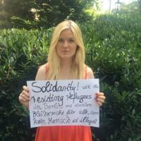 Kampagne: Solidarität mit Flüchtlingen