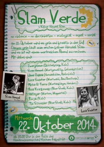Plakat Poetryslam